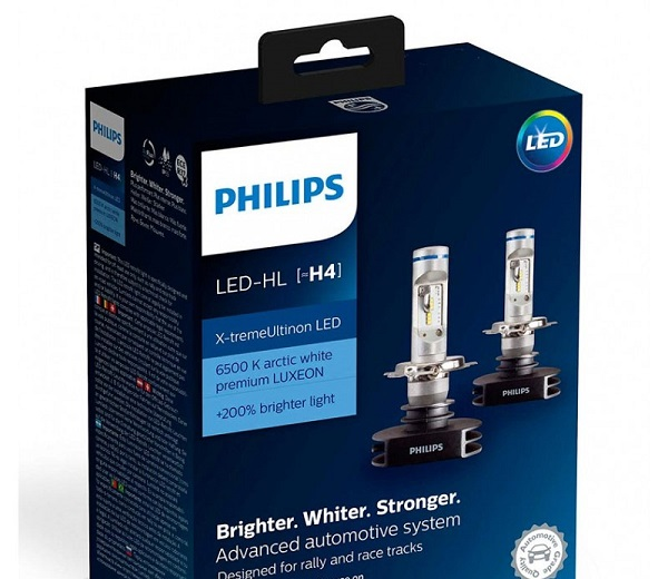 PHILIPS H7 12 В X-TREMEULTINON LED