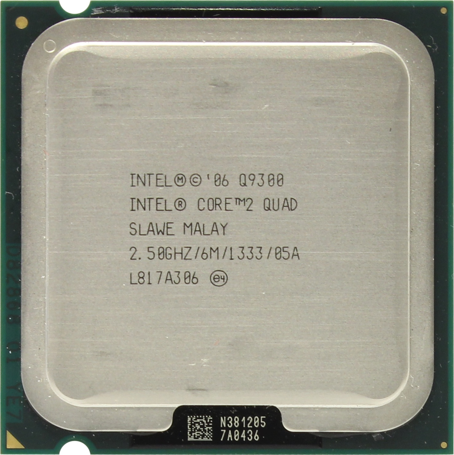 Intel Core 2 Quad Q9300 Yorkfield
