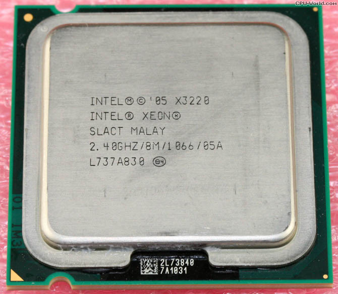Intel Xeon X3220 Kentsfield